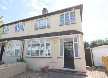 Thumbnail 3 bed semi-detached house to rent in Meadow Gardens, Staines Upon Thames