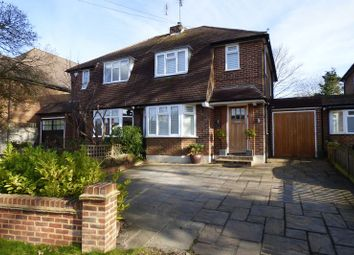 Thumbnail 3 bed semi-detached house for sale in Common Road, Claygate, Esher