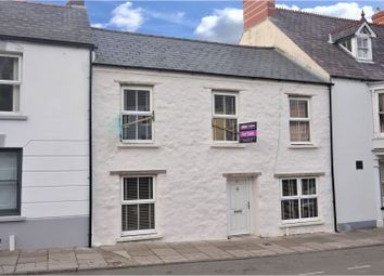 Thumbnail 3 bed terraced house for sale in Dew Street, Haverfordwest