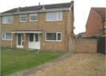 Thumbnail 3 bed semi-detached house to rent in Mercia Gardens, Bourne, Lincolnshire