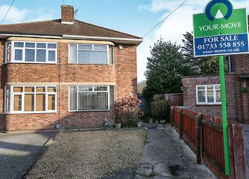 Thumbnail 3 bedroom semi-detached house for sale in Gloucester Road, Fletton, Peterborough