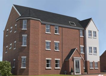Thumbnail 2 bed flat for sale in Lime Tree Park, Chesterfield