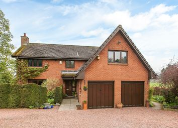 Thumbnail 4 bed detached house for sale in Medwyn Road, West Linton