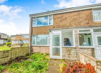 Thumbnail 3 bed end terrace house for sale in Blackwell Close, Barry