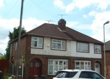 Thumbnail 3 bedroom semi-detached house for sale in Green Hill Road, Leicester