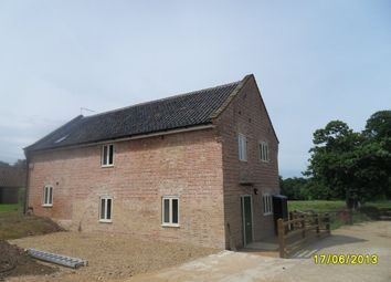 Thumbnail 3 bedroom barn conversion to rent in Belsey Bridge Road, Ditchingham, Bungay