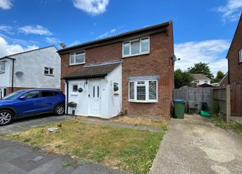 Thumbnail 2 bed semi-detached house for sale in Trevose Way, Titchfield Common, Fareham
