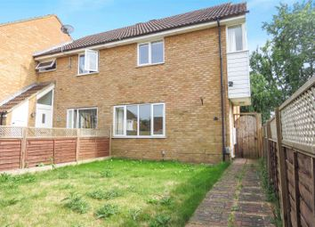 Thumbnail 3 bed end terrace house for sale in Harrier Close, Biggleswade