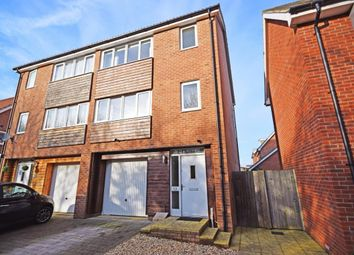 Thumbnail 4 bed semi-detached house for sale in Messner Street, Basingstoke