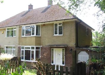 Thumbnail 3 bed semi-detached house for sale in Larch Close, Redhill, Surrey