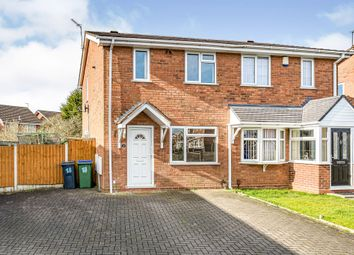 Thumbnail 2 bedroom semi-detached house for sale in Catherton Close, Tipton