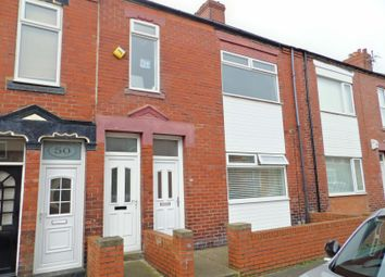 Thumbnail 2 bed flat for sale in Leighton Street, South Shields