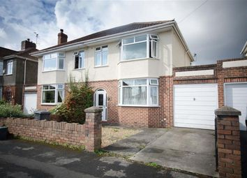 Thumbnail 3 bed semi-detached house for sale in Oakdale Road, Downend, Bristol