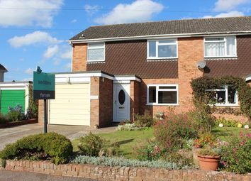 Thumbnail 3 bed semi-detached house for sale in Court Drive, Cullompton
