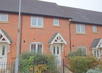 Thumbnail 2 bed terraced house to rent in Highland Drive, Loughborough, Leicestershire