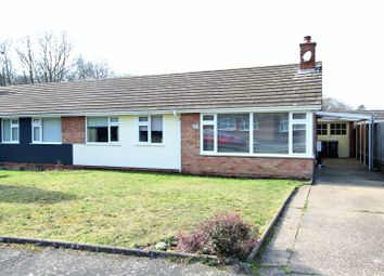 Thumbnail 3 bedroom semi-detached bungalow for sale in Bude Close, Kesgrave, Ipswich