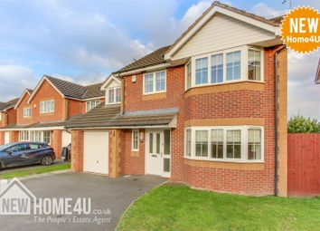 Thumbnail 4 bed detached house for sale in Ewloe Heath, Buckley