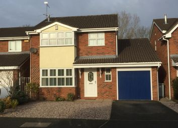 Thumbnail 4 bed detached house to rent in Charlcote Crescent, Crewe