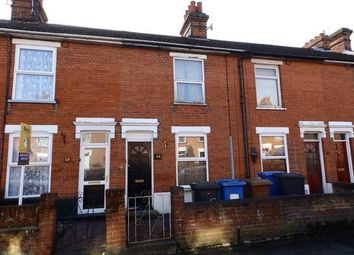 Thumbnail 3 bedroom terraced house for sale in Rosebery Road, Ipswich