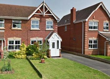 Thumbnail 3 bed semi-detached house for sale in Skipness, Amington, Tamworth, Staffordshire