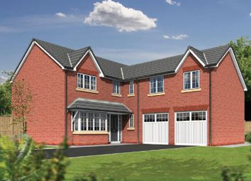 Thumbnail 5 bed detached house for sale in Linley Grange, Stricklands Lane, Poulton-Le-Fylde, Lancashire