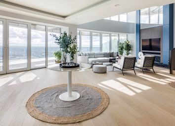 Thumbnail 4 bed flat for sale in Baltimore Tower, Baltimore Wharf, 25 Crossharbour Plaza, Canary Wharf, London