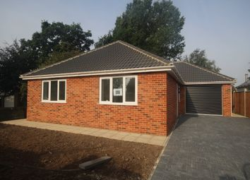 Thumbnail 3 bedroom detached bungalow for sale in Mill Road, Hemsby, Great Yarmouth