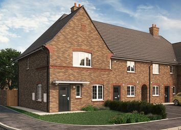 "Thumbnail 3 bed end terrace house for sale in ""The Wootten"" at Park Crescent, Stewartby, Bedford"