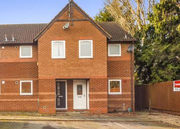 Thumbnail 2 bedroom end terrace house for sale in Pear Tree Gardens, Market Harborough