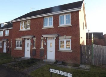 Thumbnail 2 bedroom property for sale in Manor Court, Newbiggin-By-The-Sea