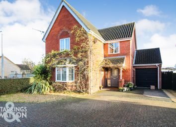 Thumbnail 4 bed detached house for sale in Cranes Meadow, Harleston