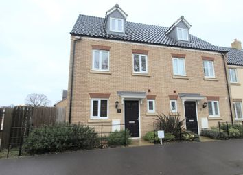 Thumbnail 3 bed town house to rent in Dragonfly Lane, Cringleford, Norwich