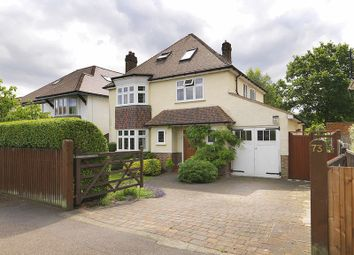 Thumbnail 5 bedroom detached house for sale in Effingham Road, Surbiton