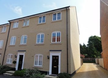 Thumbnail 3 bedroom end terrace house to rent in East Close, Bury St. Edmunds