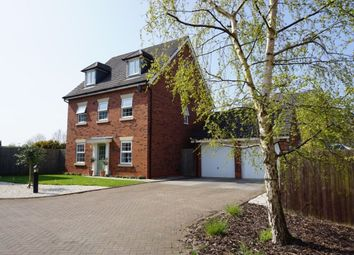 Thumbnail 5 bed detached house for sale in Naylor Crescent, Stapeley, Nantwich