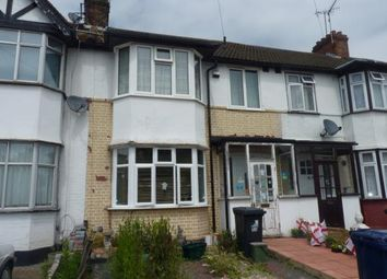 Thumbnail 3 bed terraced house for sale in Tavistock Avenue, Perivale, Greenford