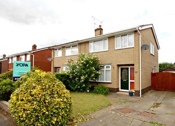 Thumbnail 3 bed semi-detached house for sale in Primrose Avenue, Haslington, Crewe