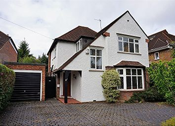 Thumbnail 3 bed detached house for sale in Cassiobury Drive, Watford