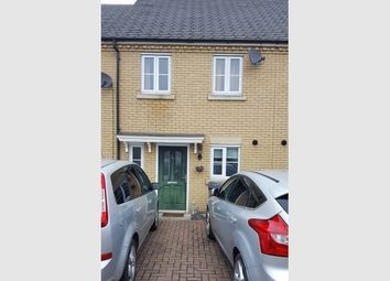 Thumbnail 2 bedroom terraced house for sale in Cook Drive, Eynesbury, St Neots, Cambridgeshire