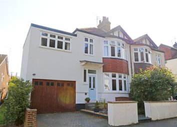 Thumbnail 4 bed semi-detached house for sale in Underwood Square, Leigh-On-Sea