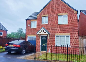 Thumbnail 4 bed detached house for sale in Bottomley Side, Manchester