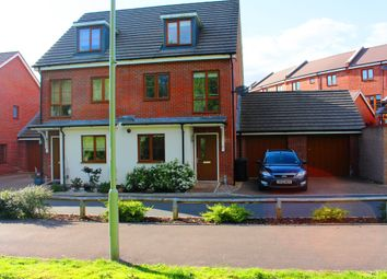 Thumbnail 3 bed semi-detached house for sale in Sheepwash Court, Basingstoke