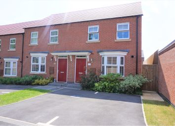 Thumbnail 3 bed end terrace house for sale in Ruthyn Close, Ashby-De-La-Zouch
