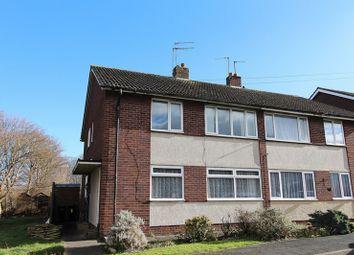 Thumbnail 2 bed flat for sale in Chelsea Close, Keynsham, Bristol