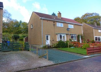 Thumbnail 3 bed semi-detached house for sale in 26 Glenfyne Park, Ardrishaig
