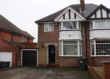 Thumbnail Semi-detached house for sale in Wychall Road, Birmingham