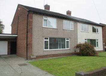 Thumbnail 3 bedroom semi-detached house to rent in Hunts Cross Avenue, Woolton, Liverpool