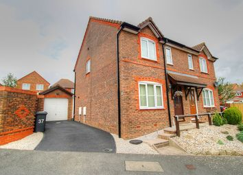 Thumbnail 3 bed semi-detached house for sale in Wellsbourne Road, Stone Cross, Pevensey