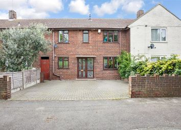 Thumbnail 3 bed terraced house for sale in Brabourne Avenue, Gillingham, Kent