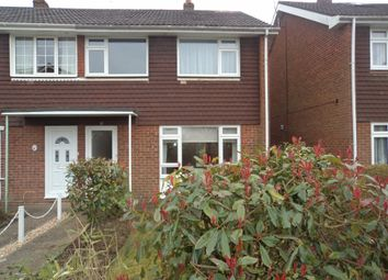 Thumbnail 3 bed end terrace house to rent in Helsby Close, Fareham